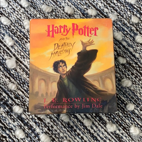Harry Potter and the Deathly Hallows audio book.